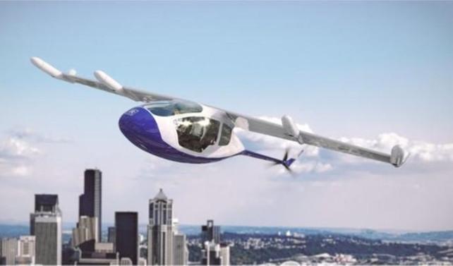 Uçan taksi 2020'de hizmete girecek