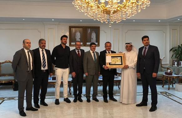 Türk iş insanlarından Katar ziyareti