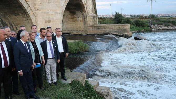 CHP Genel Başkanı Kılıçdaroğlu Ergene'de incelemelerde bulundu