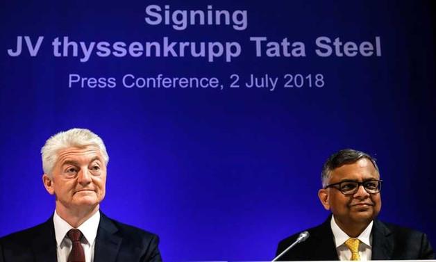Alman ThyssenKrupp ve Tata birleşti