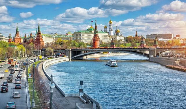 Rengârenk bir Moskova turu