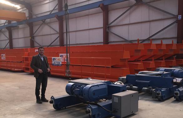 Erçağ Vinç, yeni şirketi ile demir çelik sektörünü odağına aldı