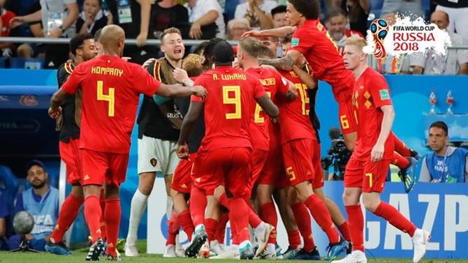 Belçika, 90+4'teki golle çeyrek finale yükseldi