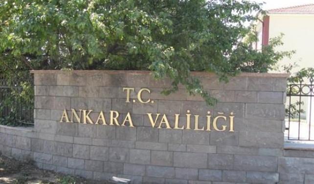 Ankara Valiliği'nden kontrollü patlama uyarısı