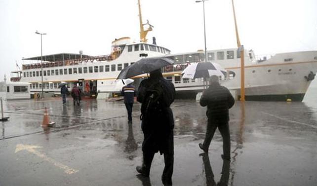 Yağışlar akşam saatlerinde İstanbul'u terk edecek