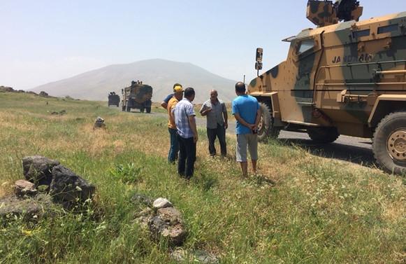 Iğdır'da İl Özel İdaresi ekibine terör saldırısı