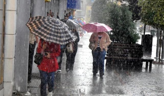 İstanbul'un Avrupa Yakası için yağış uyarısı
