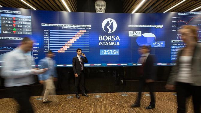 Borsa ilk yarıda yüzde 1.5'e yakın değer kazandı