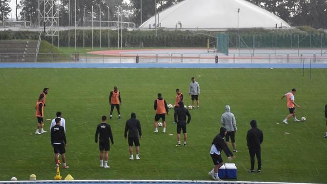 Beşiktaş ilk hazırlık maçı için sahada