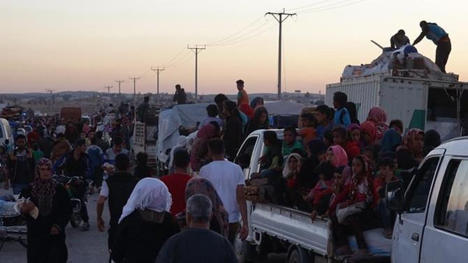 BM: Ürdün sınırındaki Suriyeliler geri döndü