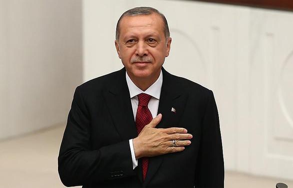 Erdoğan yemin etti, yeni dönem başladı