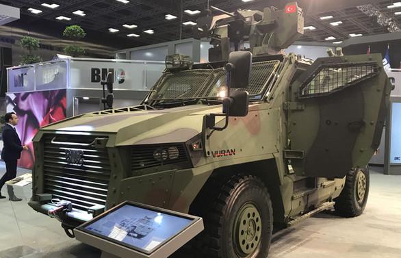 TSK'nın yeni zırhlısı Vuran
