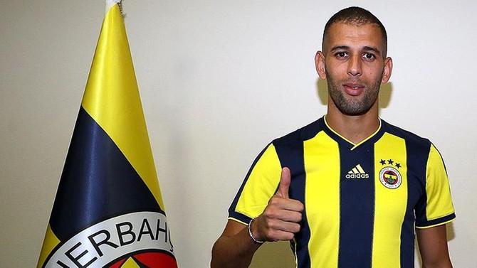 Fenerbahçe'de Slimani imzayı attı