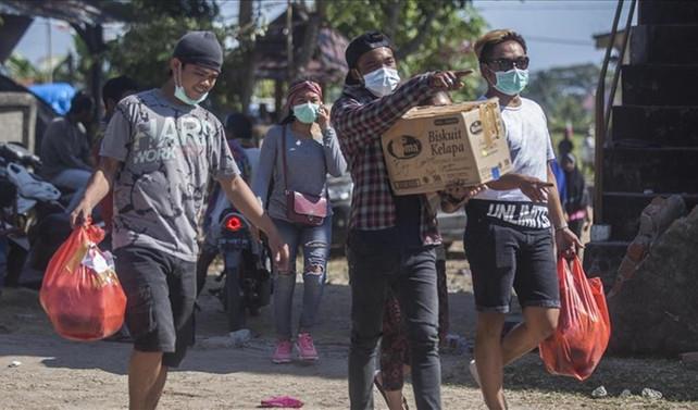Endonezya'daki depremde ölü sayısı 436'ya yükseldi