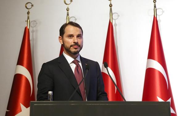 Bakan Albayrak, Almanya Finans Bakanı ile görüştü