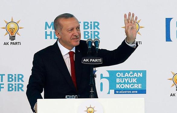 Erdoğan 6. kez AK Parti Genel Başkanı seçildi
