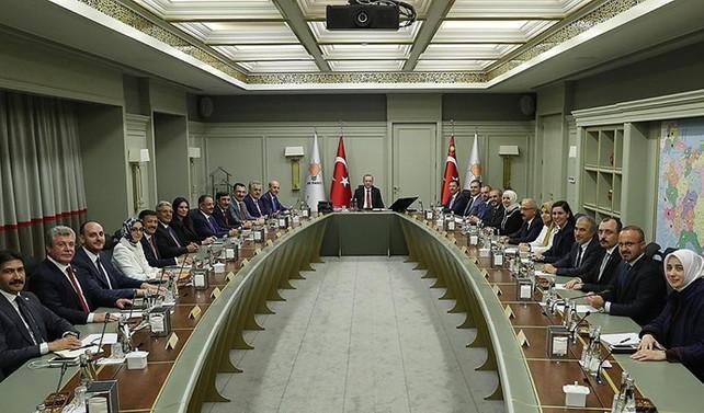 AK Parti'de yeni MYK açıklandı