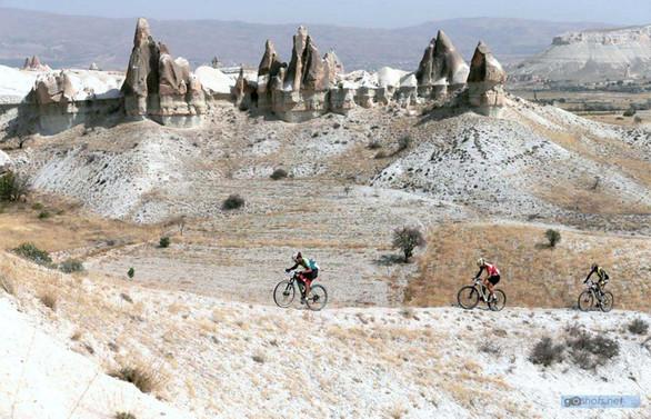Kapadokya'da bisiklet festivali