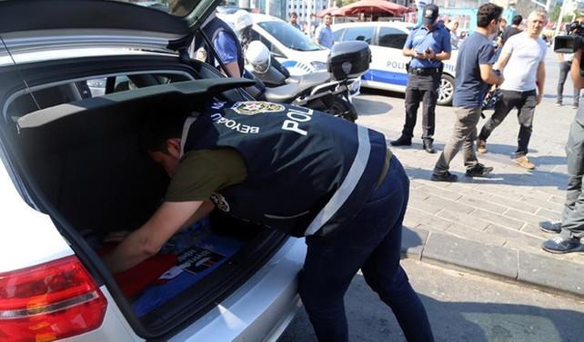 İstanbul'da 'Kurt Kapanı' uygulaması yapıldı