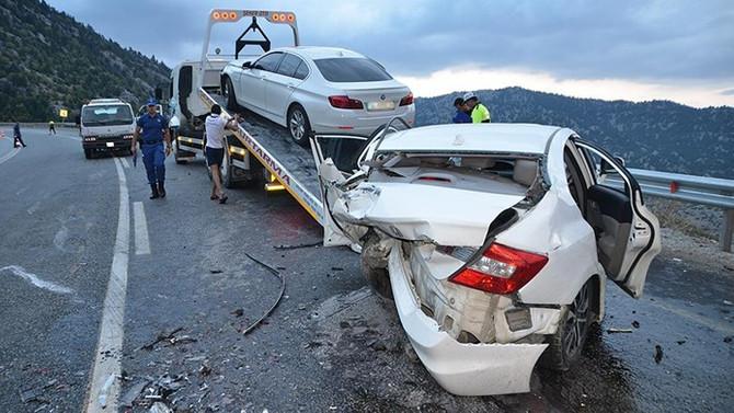 Trafik kazaları bayram tatilinin 6 gününde 87 can aldı