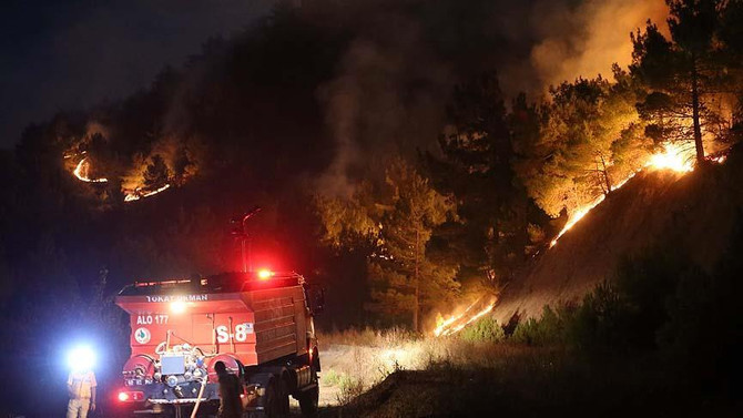 Sivas'taki yangın kontrol altına alındı