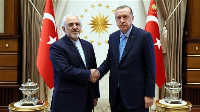 Cumhurbaşkanı Erdoğan, İran Dışişleri Bakanı ile görüştü