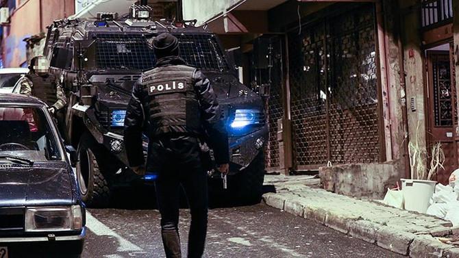 İstanbul'da terör örgütü PKK'ya operasyon