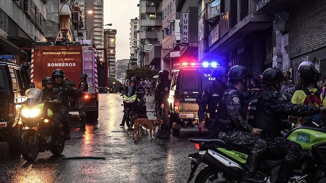 Maduro'ya düzenlenen saldırıya ilişkin 6 gözaltı