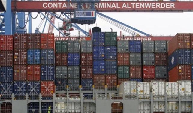 Almanya'da haziranda ihracat değişmezken, ithalatta rekor geldi