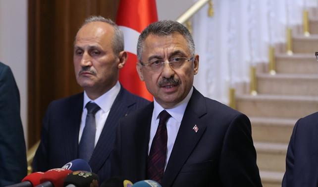 Cumhurbaşkanı Yardımcısı Oktay'dan Ordu açıklaması
