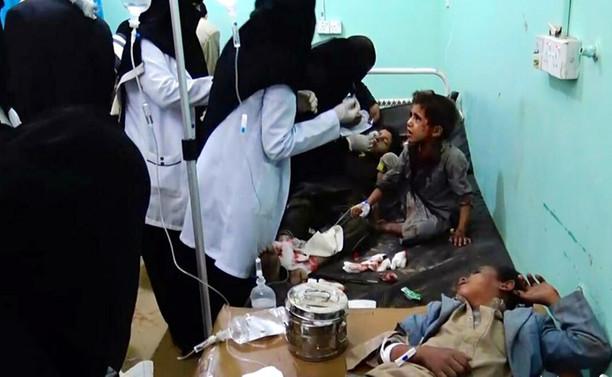 Yemen'de okul otobüsü bombalandı: 46 ölü