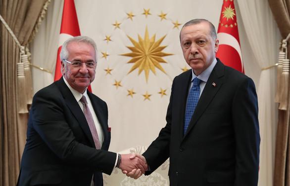 TÜSİAD'dan Cumhurbaşkanı Erdoğan'a ziyaret