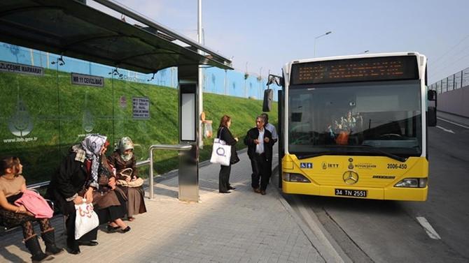 İETT'den kış tarifesi düzenlemesi, pazartesi toplu taşıma ücretsiz