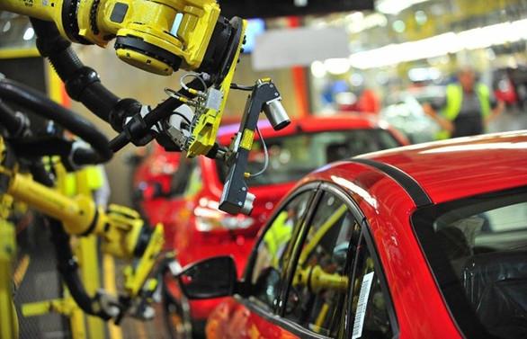 Otomobil üretiminde keskin düşüş