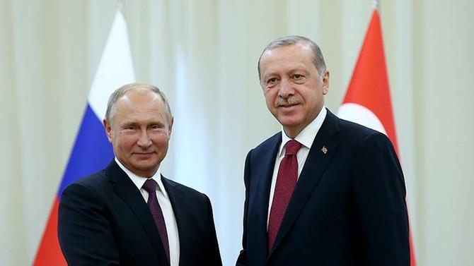 Erdoğan Rusya'da Putin ile görüşecek