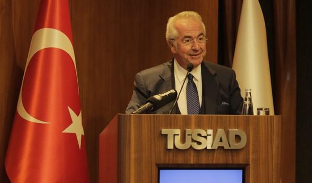 TÜSİAD Başkanı'ndan 'güçlü ve yetkin' sanayi vurgusu