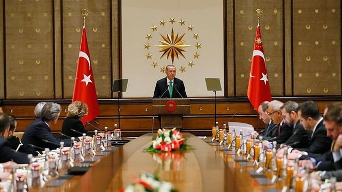 Erdoğan: ABD ile stratejik ortaklığımız yatırım ve ticaretle güçlenecek