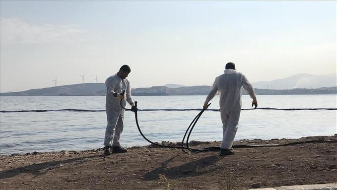 Denize sızan madde fuel oil