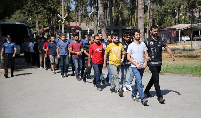 Adana merkezli operasyonda 12 tutuklama