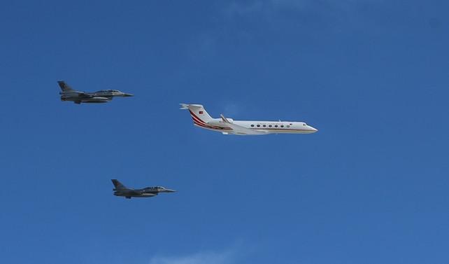 Erdoğan, Teknofest'e uçakla geldi