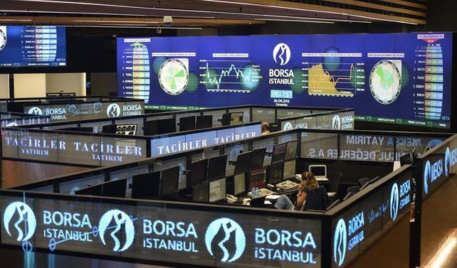 Borsa, bankalar öncülüğünde yükselişte