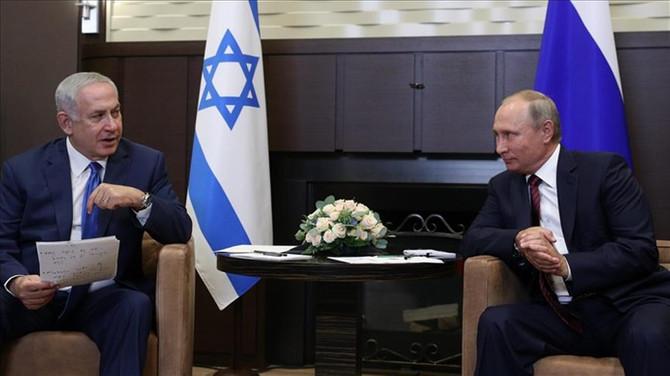 Putin ile Netanyahu görüştü