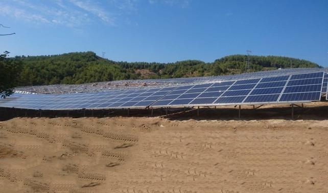 Güneş enerjisine 165 milyon liralık yatırım