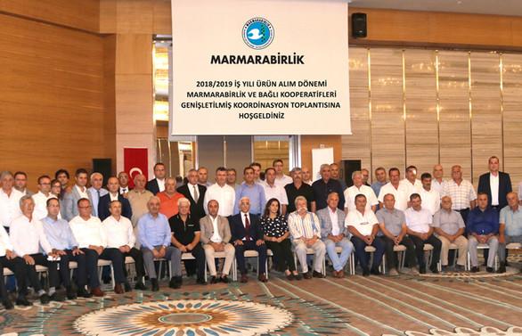 Marmarabirlik, kooperatif başkanlarıyla buluştu