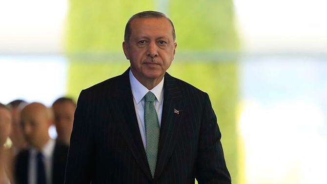 Erdoğan, Alman şirket yöneticileriyle bir araya geldi