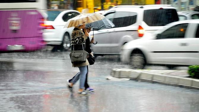 İstanbul için çok kuvvetli ve şiddetli yağış uyarısı