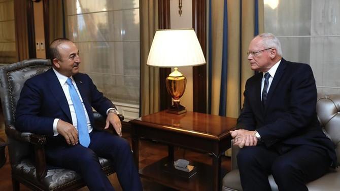 Çavuşoğlu, ABD'nin Suriye Özel Temsilcisi'ni kabul etti