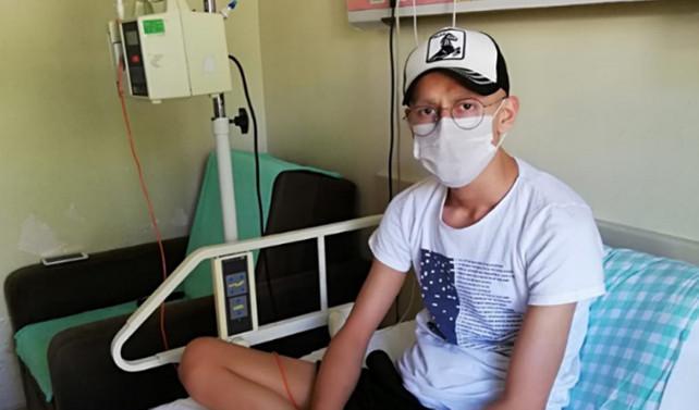 Yeteneği tümöre takıldı; 'Hayalim Muslera ile tanışabilmek'