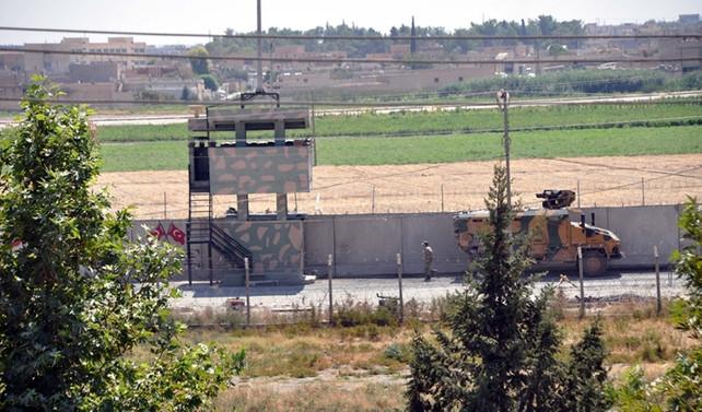 Suriye sınırından taciz ateşi açıldı