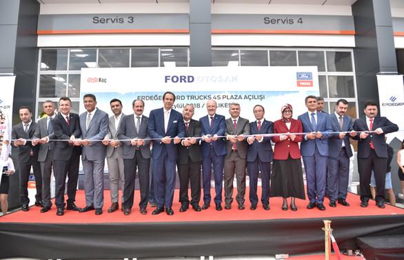 Ford Trucks Balıkesir tesisi açıldı